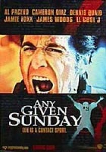 Any Given Sunday, Oliver Stone