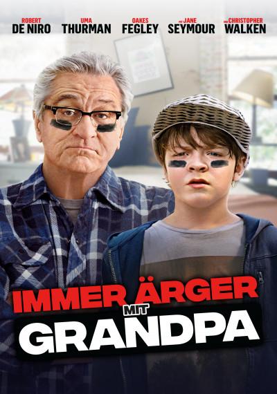 Plakat: Immer Ärger mit Grandpa