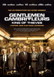 The King of Thieves, James Marsh