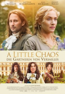 A Little Chaos, Alan Rickman