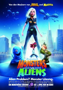 Monsters vs. Aliens, Rob Letterman Conrad Vernon