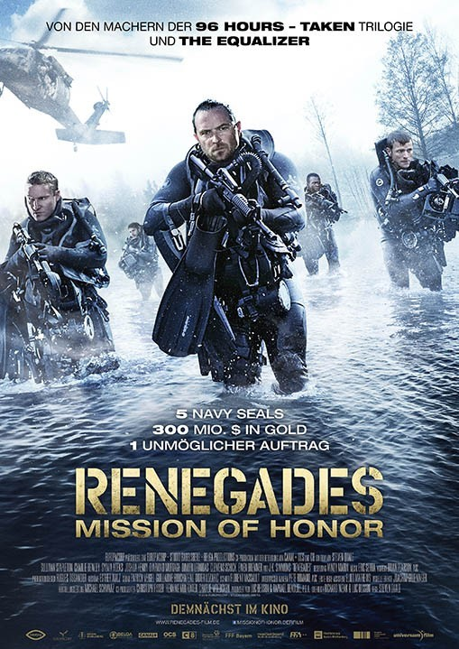 Plakat: Renegades: Mission of Honor
