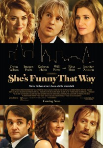 She's Funny That Way, Peter Bogdanovich
