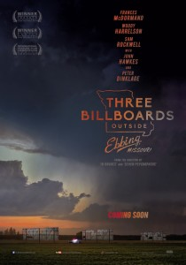 Three Billboards outside Ebbing, Missouri, Martin McDonagh